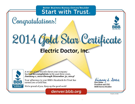 denver-electrician-bbb-gold-star-2014-electric-doctor